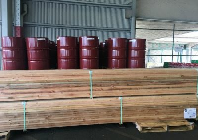 2017,V42 Cargo of Lumber and drums for fuel