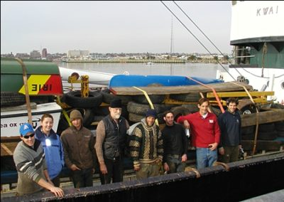 2005,Voyage 1,  bound for Suriname South America