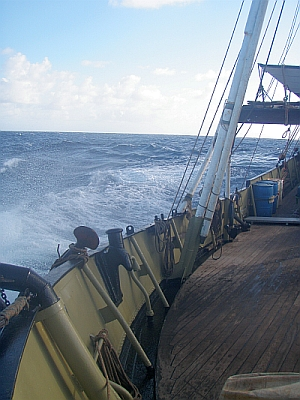 KWAI at sea