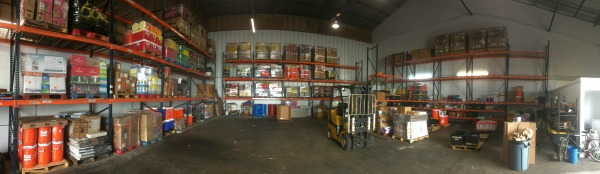 2018, New warehouse filling up!