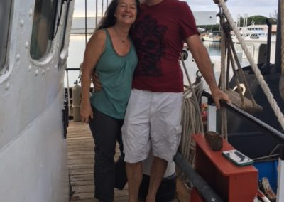 2018,V44,Captain Brad and April